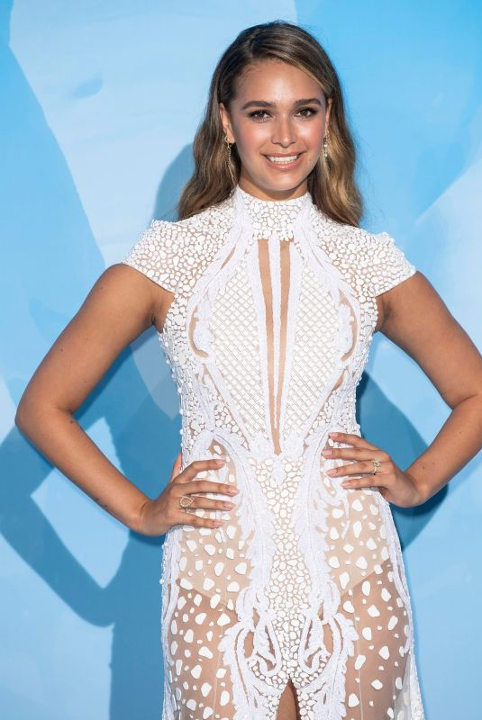 APRIL LOVE GEARY at Gala for the Global Ocean 2019 in Monte-Carlo 09/26/2019