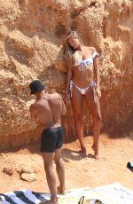ARABELLA CHI in Bikini at a Beach in Ibiza 09/01/2019