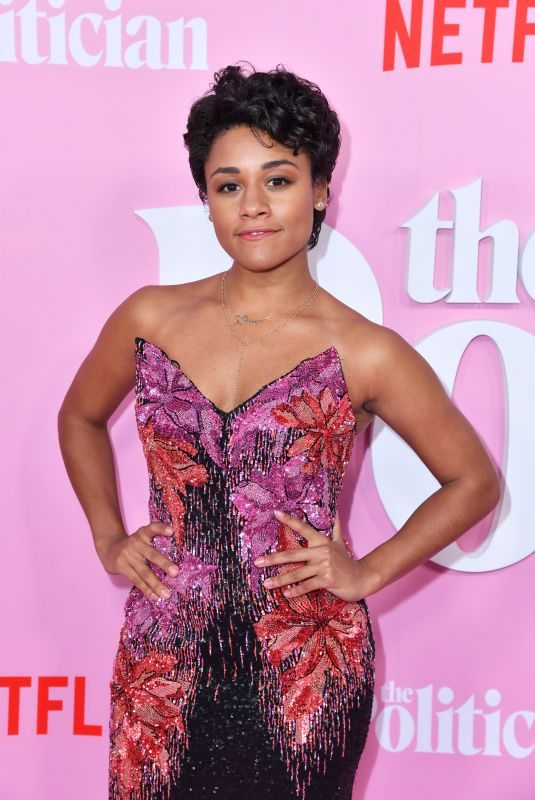ARIANA DEBOSE at The Politician, Season One Premiere in New York 09/26/2019