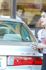 ARIEL WINTER at a Gas Station in Los Angeles 09/25/2019