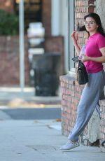 ARIEL WINTER Leaves Actors Studio Class in Studio City 09/20/2019