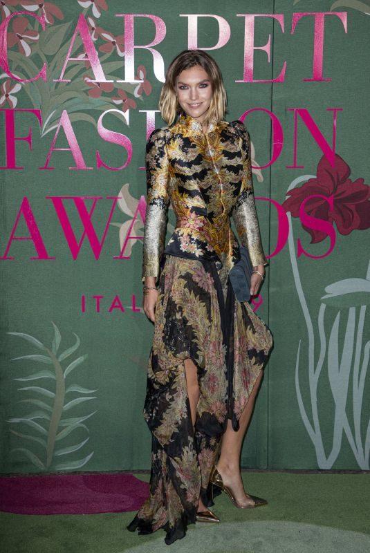 ARIZONA MUSE at Green Carpet Fashion Awards in Milan 09/22/2019