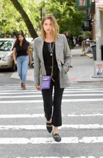 ASHLEY BENSON Out and About in New York 09/09/2019