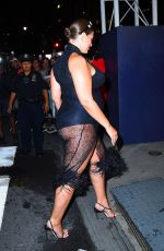 ASHLEY GRAHAM Arrives at Plaza Hotel in New York 09/06/2019