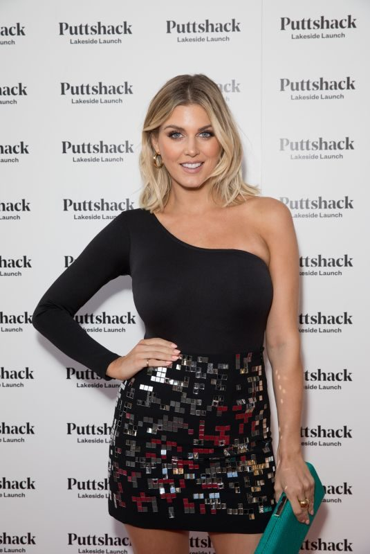 ASHLEY JAMES at Puttshack Lakeside Launch in London 09/06/2019