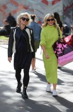ASHLEY ROBERTS and Pregnant KIMBERLY WYATT Leaves Heart Radio Show in London 09/13/2019