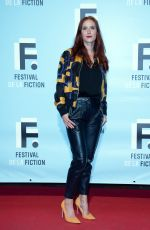 AUDREY FLEUROT at 21st LA Rochelle Fiction Festival in France 09/12/2019