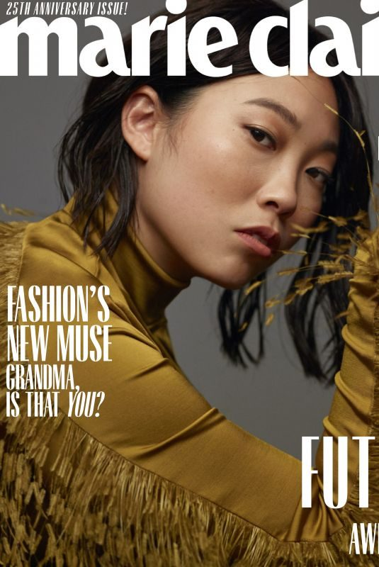 AWKWAFINA in Marie Claire Magazine, October 2019
