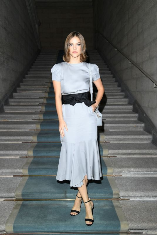 BARBARA PALVIN at Giorgio Armani Fashion Show in Milan 09/21/2019