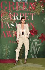 BARBARA PALVIN at Green Carpet Fashion Awards in Milan 09/22/2019