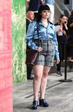 BARBIE FERREIRA at Coach1941 Fashion Show in New York 09/10/2019