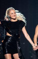 BEBE REXHA and KELSEA BALLERINI Performs at Bridgestone Arena in Nashville 09/10/2019