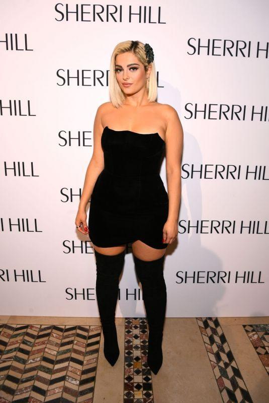 BEBE REXHA at Sherri Hill Spring 2020 Fashion Show in New York 09/06/2019