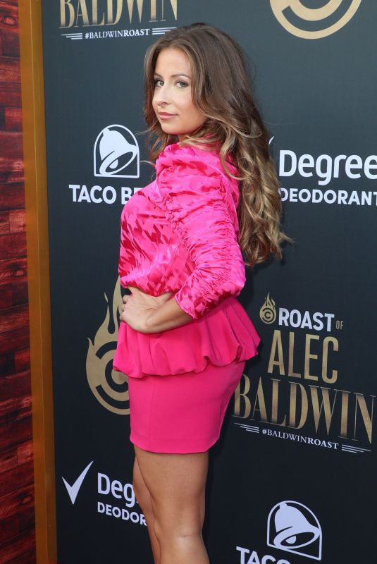 BECKY ROBINSON at Comedy Central Roast of Alec Baldwin in Beverly Hills 09/07/2019