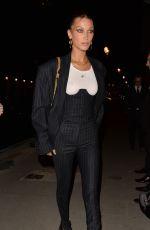 BELLA HADID Arrives at Rihanna x Fenty After-party in Paris 09/26/2019