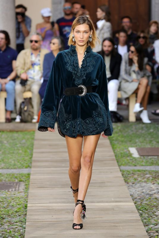 BELLA HADID at Etro Runway Show at Milan Fashion Week 09/20/2019