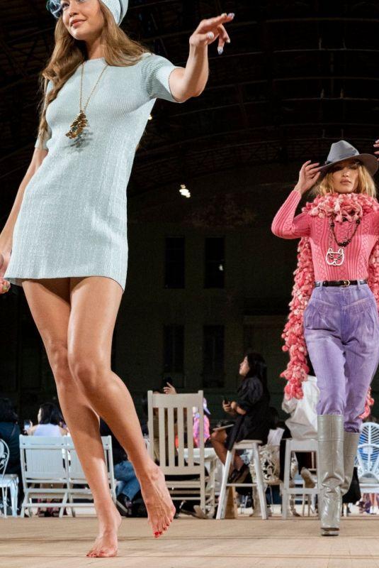 BELLA HADID at Marc Jacobs Runway Show at New York Fashion Week 09/11/2019