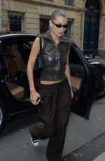 BELLA HADID Out and About in Paris 09/25/2019