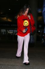 BELLA THORNE at Los Angeles Intarnational Airport 09/02/2019
