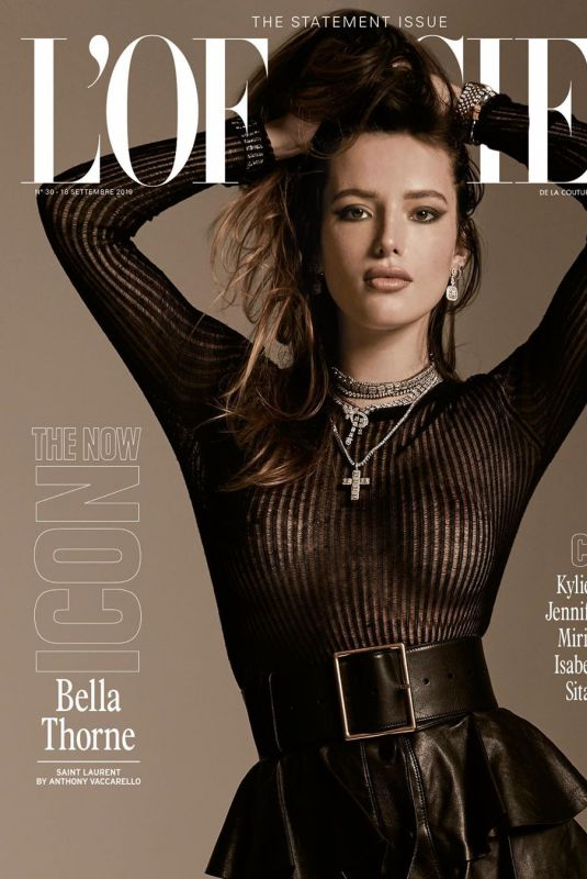 BELLA THORNE on the Cover of L