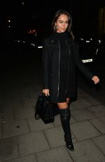 BETHAN WRIGHT at Nobu in London 08/30/2019