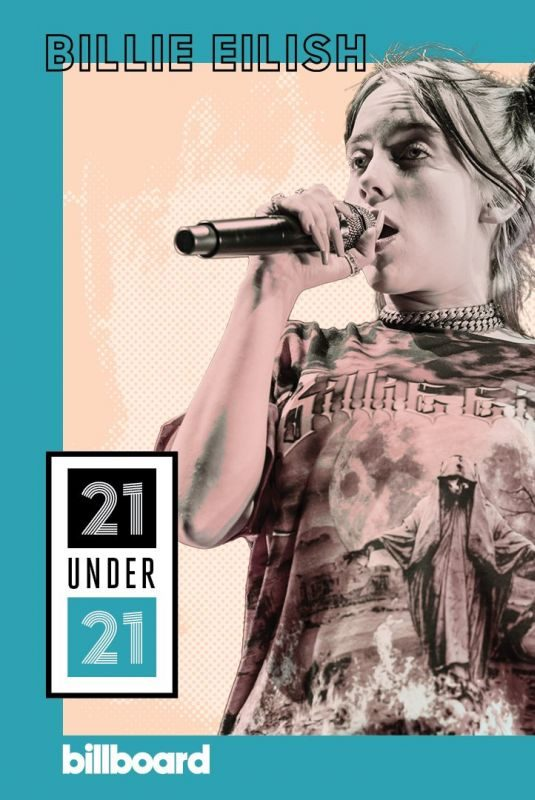 BILLIE EILISH in Billboard 21 Under 21: Music's Next Generation, 2019