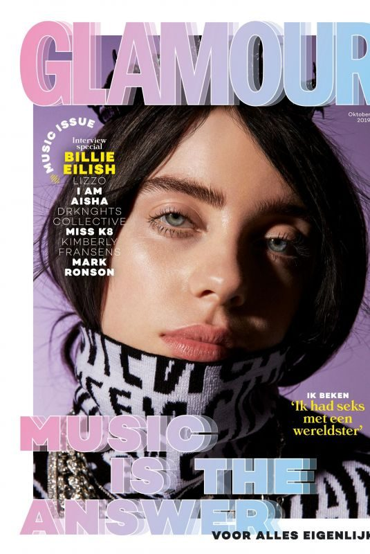 BILLIE EILISH in Glamour Magazine, Netherlands October 2019