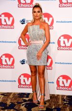 BILLIE FAIERS at TV Choice Awards 2019 in London 09/09/2019