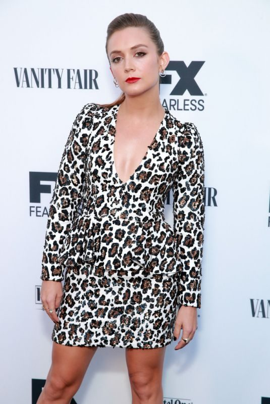 BILLIE LOURD at Vanity Fair & FX's Annual Primetime Emmy Nominations Party in Los Angeles 09/21/2019