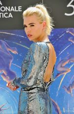 BILLIE PIPER at Rare Beasts Photocall at 2019 Venice Film Festival 08/31/2019