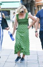 BILLIE PIPER Out and About in Venice 08/31/2019