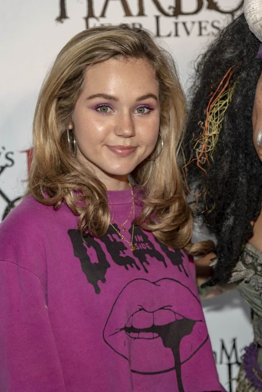 BREC BASSINGER at Queen Mary's 10th Annual Dark Harbor Media and VIP Night in Long Beach 09/26/2019