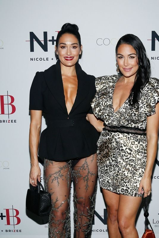 BRIE and NIKKI BELLA at Launch of Their New Product Line at New York Fashion Week 09/05/2019