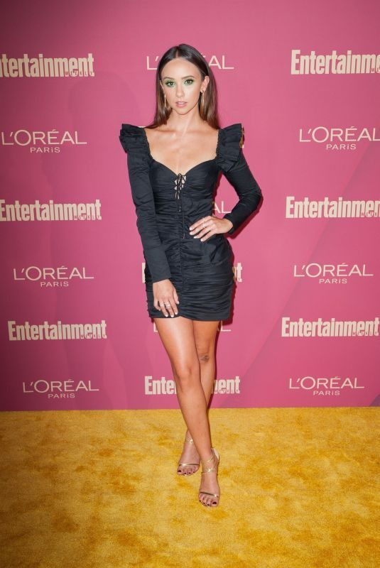 BRITT BARON at 2019 Entertainment Weekly and L'Oreal Pre-emmy Party in Los Angeles 09/20/2019