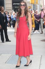 BROOKE SHIELDS Arrives at Build Series in New York 09/24/2019
