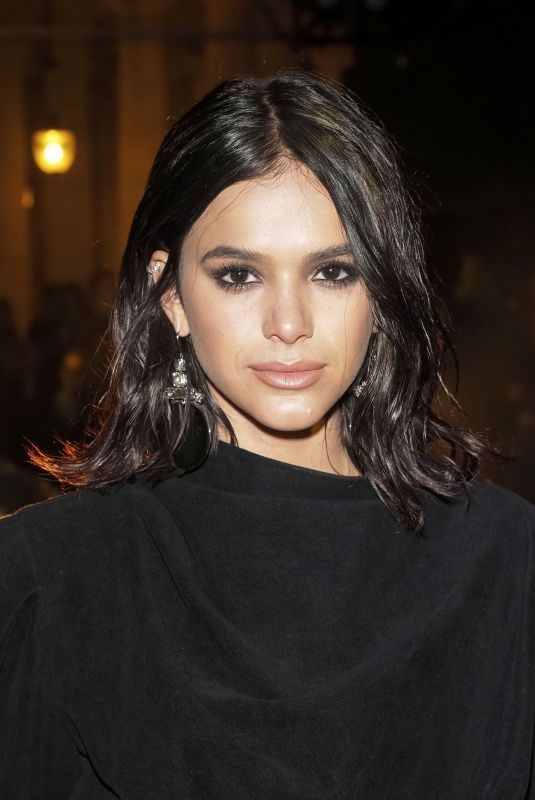 BRUNA MARQUEZINE at Isabel Marant Show at Paris Fashion Week 09/26/2019
