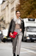BRUNA MARQUEZINE Out and About at Paris Fashion Week 09/25/2019