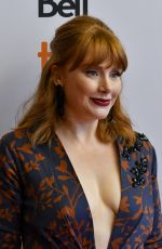 BRYCE DALLAS HOWARD at Dads Premiere at 2019 Toronto International Film Festival 09/06/2019