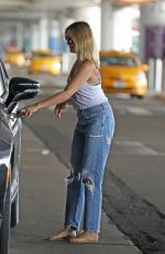 CAMERON DIAZ in Ripped Denim Out in Los Angeles 09/09/2019