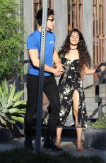 CAMILA CABELLO and Shawn Mendes Out for Coffee in West Hollywood 09/18/2019