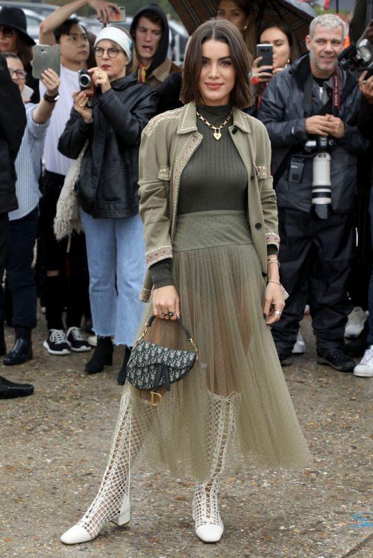 CAMILA COELHO at Christian Dior Show as Paris Fashion Week 09/24/2019