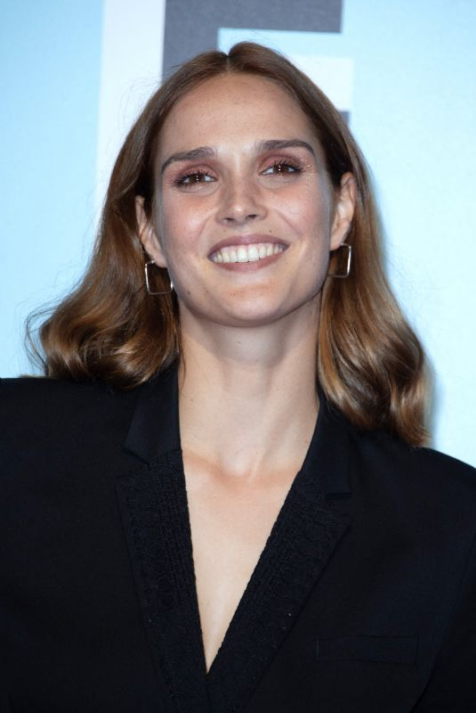 CAMILLE LOU at 21st LA Rochelle Fiction Festival Photocall in France 09/12/2019