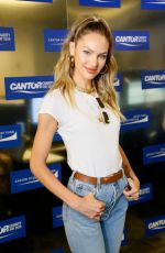 CANDICE SWANEPOEL at Cantor Fitzgerald, BGC and GFI Annual Charity Day in New York 09/11/2019
