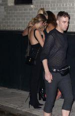 CAR ADELEVINGNE and ASHLEY BENSON at Rihanna