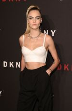 CARA DELEVINGNE at DKNY 30th Anniversary Party in New York 09/09/2019