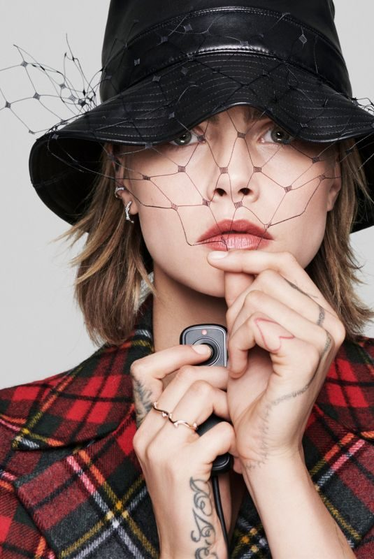 CARA DELEVINGNE for Dior Autumn/Winter 2019 Collection