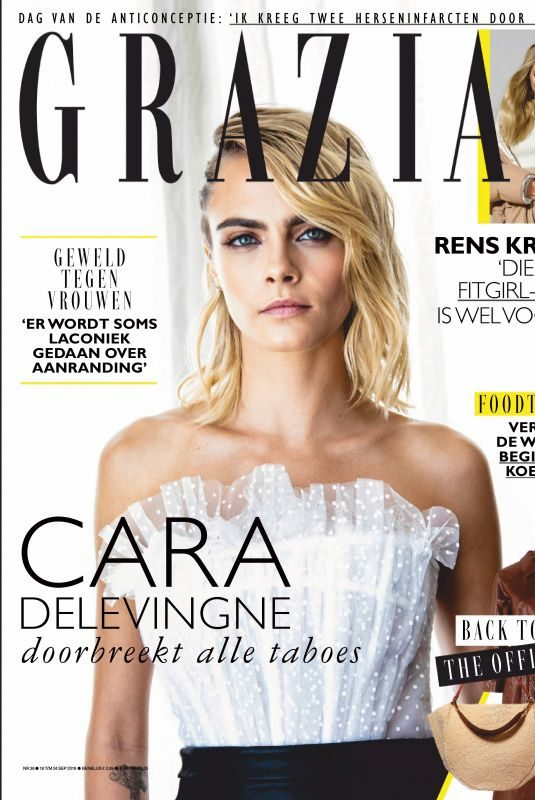 CARA DELEVINGNE in Grazia Magazine, Netherlands September 2019