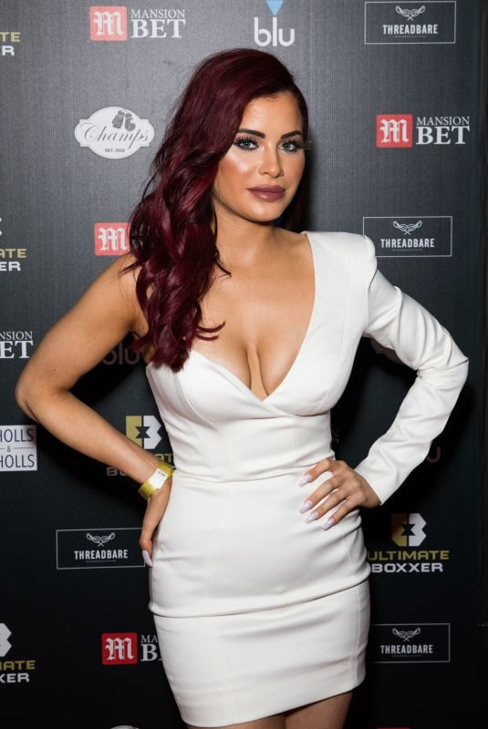 CARLA HOWE at Ultimate Boxxer 5 at Indigo in London 09/20/2019