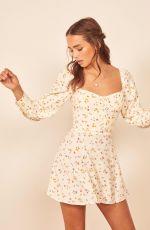 CAROLINA SANCHEZ at Reformation Summer 2019 Collection