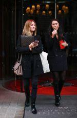 CAROLINE RECEVEUR Leaves Royal Monceau Hotel in Paris 09/25/2019